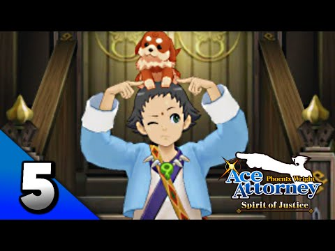 Phoenix Wright: Ace Attorney Spirit of Justice Walkthrough Part 5 · Episode 1: The Foreign Turnabout