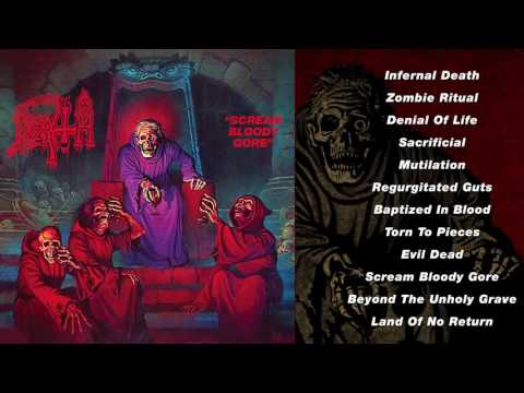 DEATH - 'Scream Bloody Gore' (Full Album Stream)