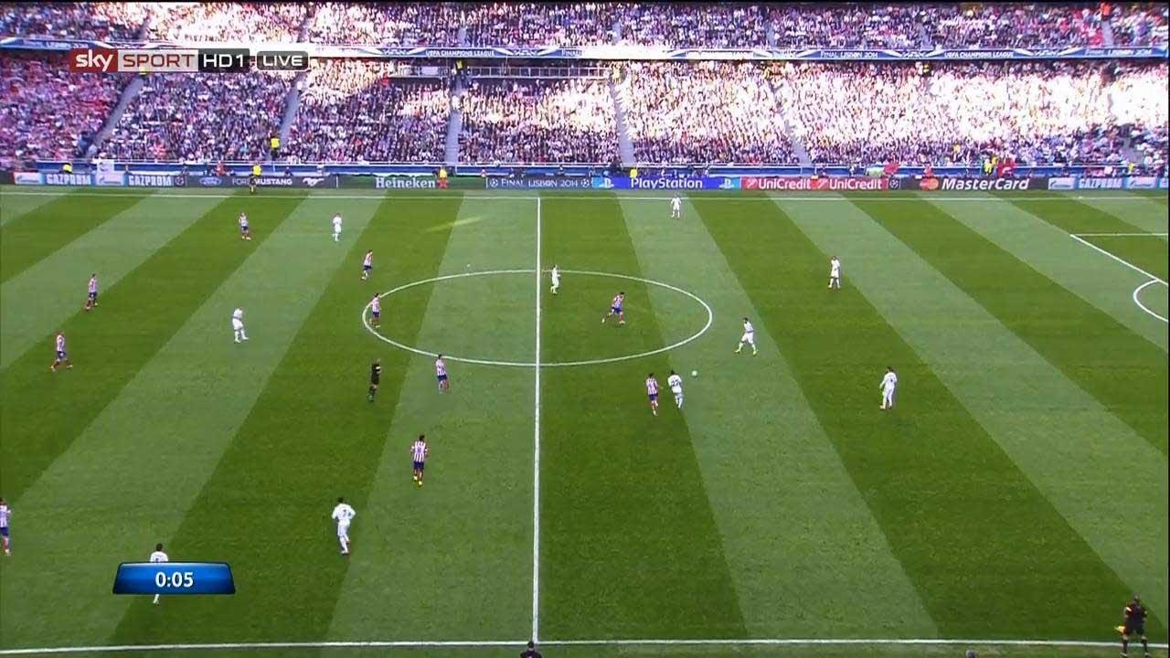 Real Madrid vs Atletico Madrid 4-1 | UEFA Champions League Final 13/14 | [Cropped]
