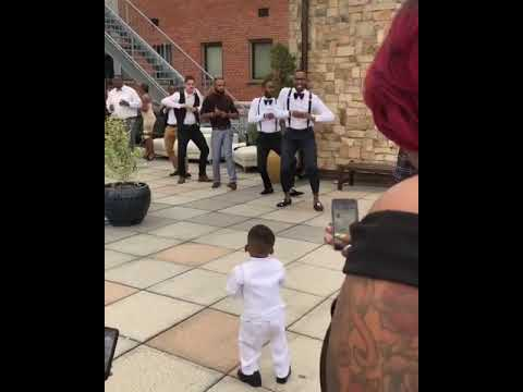 Baby Nupe in Training (Jameson stole the show) lol
