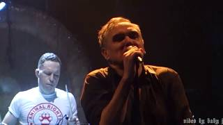 Morrissey-SPEEDWAY-Live @ Royal Albert Hall, London, UK, March 7, 2018-The Smiths