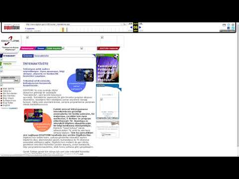 Dünden Bugüne Digitürk'ün Web Sitesi 2000 - 2017