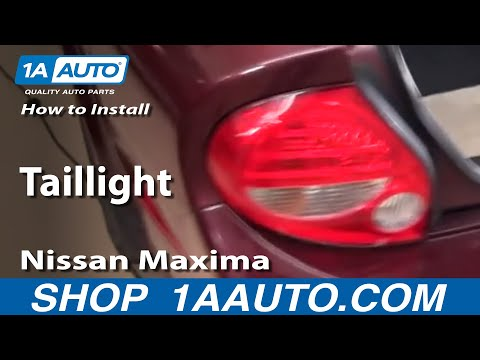 How To Install Replace Taillight Nissan Maxima 00-03 – 1AAuto.com