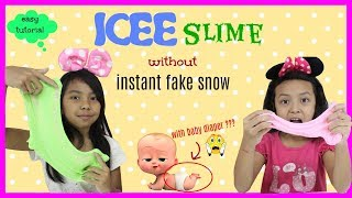 Video ICEE SNOW SLIME TUTORIAL ♥ EASY WITH NO INSTANT FAKE SNOW POWDER MP3, 3GP, MP4, WEBM, AVI, FLV Agustus 2018