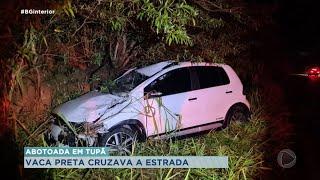 Empresário de Tupã está gravemente ferido após acidente na rodovia