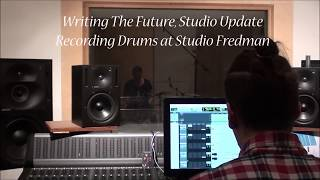 WTF.TV   Recording Drums @ Studio Fredman
