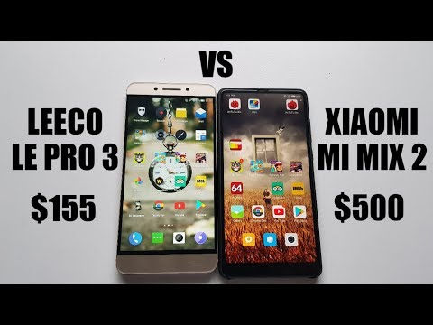 Leeco Le Pro 3 vs Xiaomi MI Mix 2 Speed test/Gaming/Comparison/Snapdragon 820 vs 835