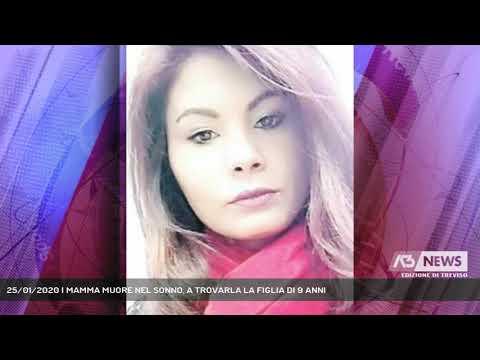 25/01/2020 | MAMMA MUORE NEL SONNO, A TROVARLA LA FIGLIA DI 9 ANNI