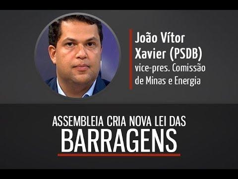 Deputado João Vítor Xavier: análise sobre a Lei de Segurança das Barragens