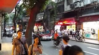 Guangzhou China  City pictures : Walking through Guangzhou City street market China
