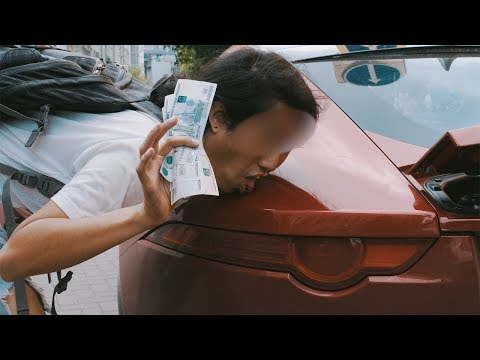 Деньги решают все: Облизать машину за деньги. - DomaVideo.Ru
