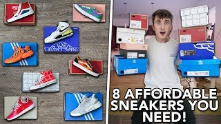 8 AFFORDABLE SNEAKERS YOU NEED IN YOUR LIFE! Under $75/$100/$160