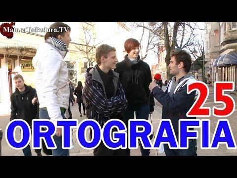 Matura To Bzdura - ORTOGRAFIA odc. 25