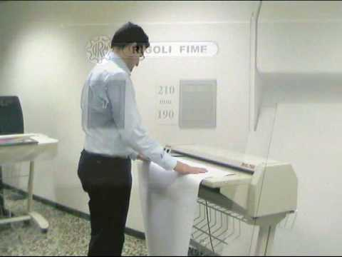 Masina pliat RIG750 -folding machine pentru documente A0