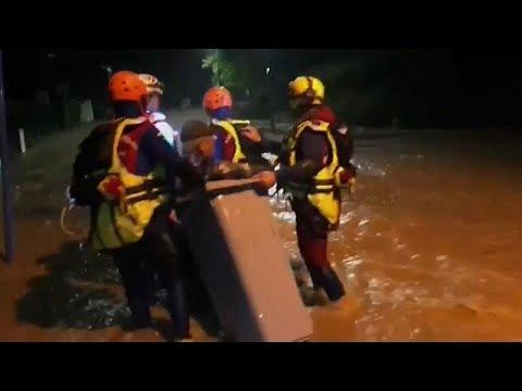 Στους έξι οι νεκροί από τις πλημμύρες στη Γαλλία