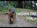 How to make a Swedish Fire Torch(Without Chainsaw)