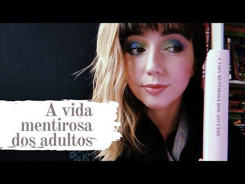 Vlog: Lendo A vida mentirosa dos adultos | Van Pessoa #31