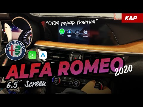 Alfa Romeo Giulia/stelvio 2020 year Carplay / Android AUTO (…
