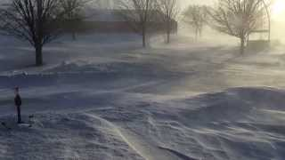 Albert Lea (MN) United States  City pictures : Winter Blizzard From Window In Albert Lea, MN