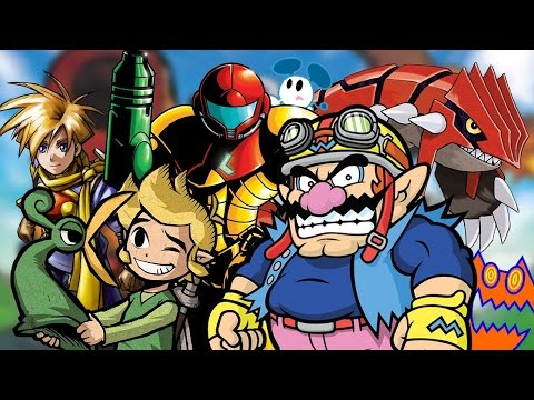 The 25 BEST Game Boy Advance (GBA) Games
