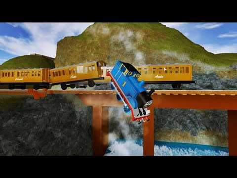 THOMAS AND FRIENDS Crashes Surprises Thomas Narrow Gauge Railway Accidents will Happen