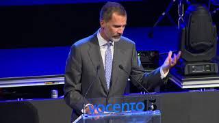 SS.MM. los Reyes presiden el acto conmemorativo del XV aniversario de Vocento