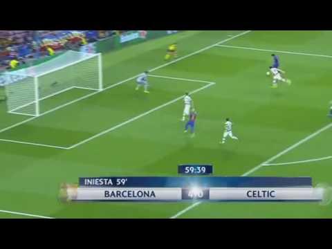 Download Hattrick de Lionel Messi Barcelona vs Celtic 5 0 13 09 2016 HD Mp4 3GP Video and MP3