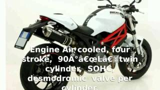 1. 2010 Ducati Monster 796 -  Transmission Engine Specs superbike Info Top Speed Dealers