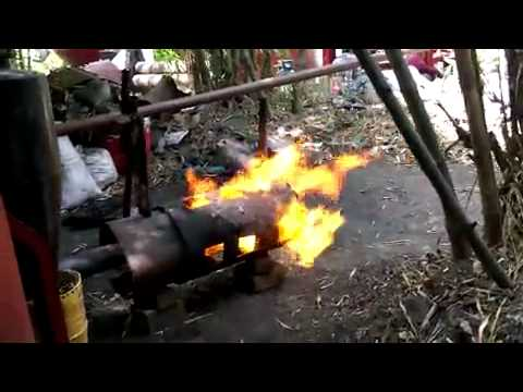 แก๊สซิไฟเออร์ใช้เชื้อเพลิงกะลาปาล์ม (Palmshell Gasifier)