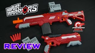 Buzz Bee blasters at Target (link to items will be added when they launch): https://www.target.com/s?searchTerm=Buzz%20Bee%20BlasterVideo review of the Air Warriors Thermal Hunter and Thermal Zenith. These blasters feature a thermal, or heat-seeking, scope as well as the new PrecisePro darts by Air Warriors.- - - - - - - - - - - - - - - - - - - - - - - - - - - - - -