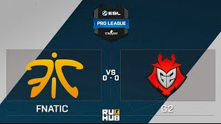 G2 vs fnatic, game 1