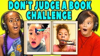 Video KIDS REACT TO VIRAL CHALLENGES (Don't Judge A Book By Its Cover) MP3, 3GP, MP4, WEBM, AVI, FLV Desember 2017