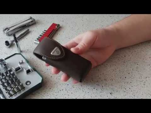 Victorinox SwissTool Spirit - комплект PLUS (чехол, штопор, ключ, биты)