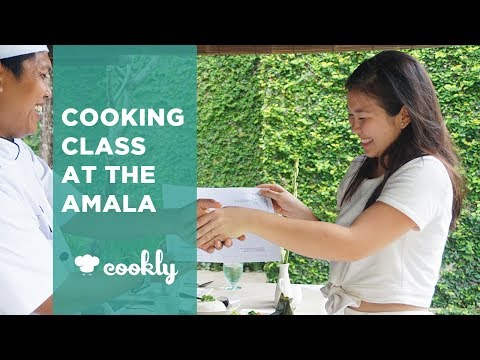 Balinese Cooking Class At The Amala In Seminyak, Bali