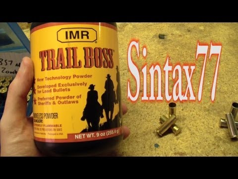 Trail Boss Powder - Not Just for Cowboys