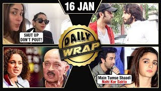 Video Ranbir CANCELS Engagement With Alia, Kangana Slams Karan Johar, Bharat Teaser | Top 10 News MP3, 3GP, MP4, WEBM, AVI, FLV Januari 2019