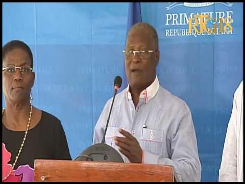 Haïti / Élections.- L'intervention du Président provisoire, Jocelerme PRIVERT