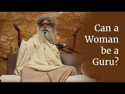 guru - Learn Sadhguru's free guided meditation http://www.ishakriya.com/ Is it better for a woman to go to a female Guru? Sadhguru answers the question and speaks a...