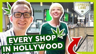 VISITING EVERY POT SHOP IN HOLLYWOOD! (PART 1/2) by That High Couple
