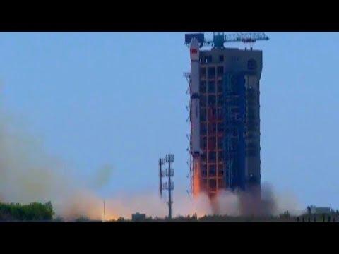 Chinese Long March 4B - HXMT Black Hole Hard X-ray Modulation Telescope - Full Audio Launch Footage