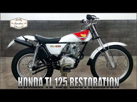 1975 Honda TL125 K2 Full Restoration Episode 6 ( ITS ALIVE! )