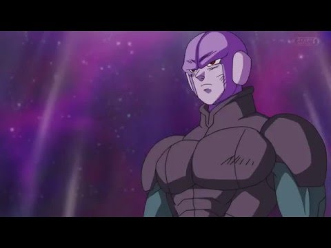 db super episode 40 hit smiled and fist bumps goku