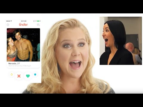 Amy Schumer Takes Over A Stranger's Tinder Profile