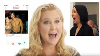 Video Amy Schumer Hijacks A Stranger's Tinder | Vanity Fair MP3, 3GP, MP4, WEBM, AVI, FLV Juni 2018