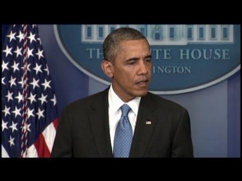President Obama Speaks About Trayvon Martin Case