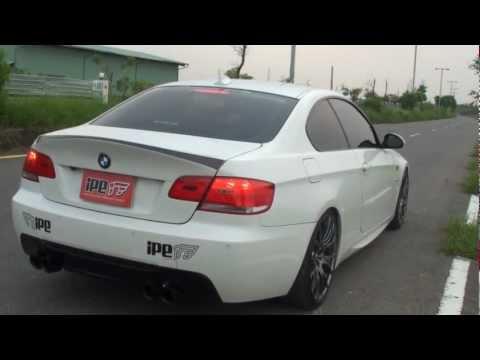 BMW 335i E9X (N54) 用 iPE 可変バルブマフラー