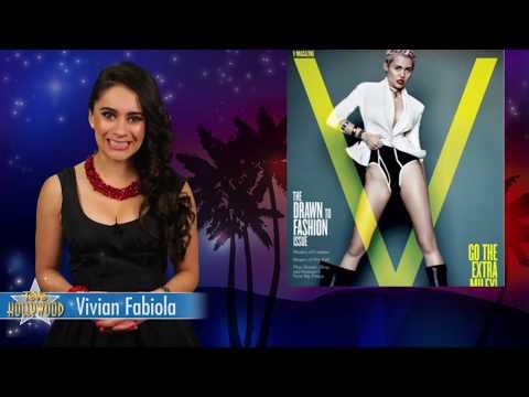Miley Cyrus Casi Desnuda Revista V