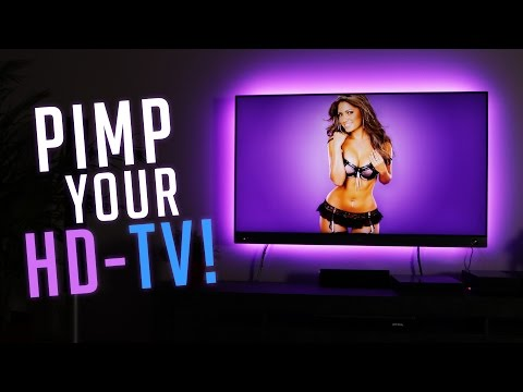 CroLED Ambient Lighting - Fernseher Tuning unter 100€!