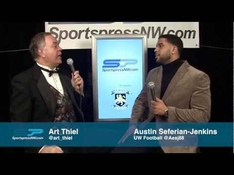Austin Seferian-Jenkins 78th Annual Sports Star of the Year awards video.
