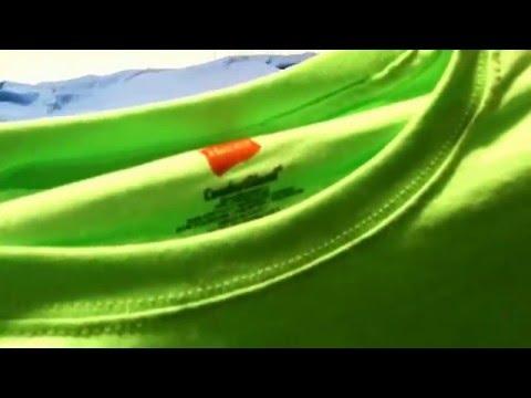 Unpackaging - Hanes ComfortBlend EcoSmart  Crewneck Men's T-Shirt